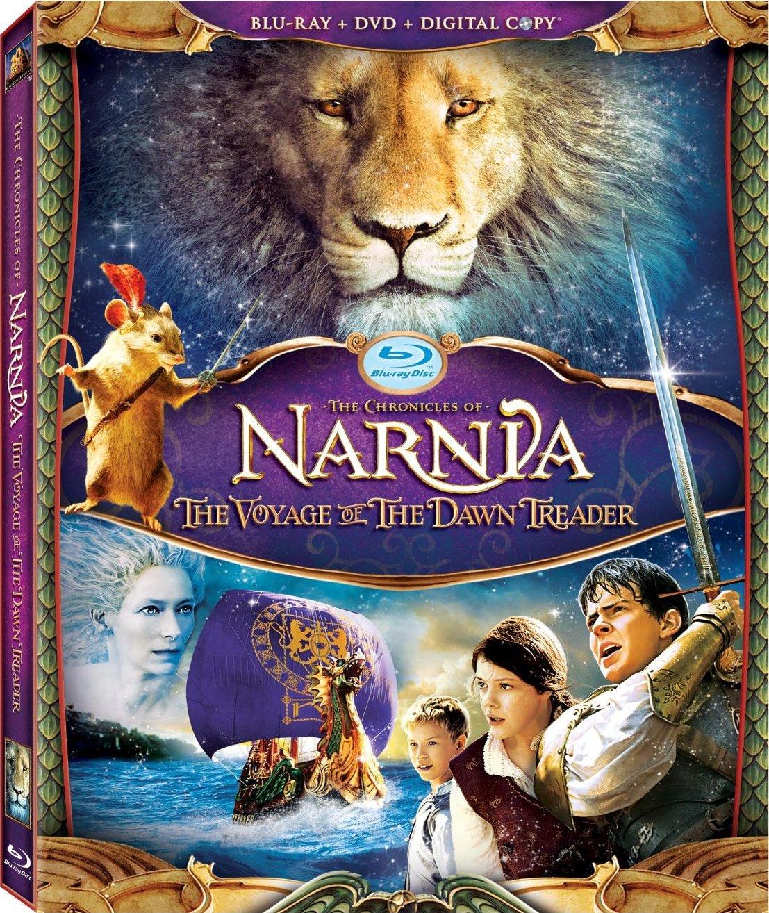 《纳尼亚传奇3》海报